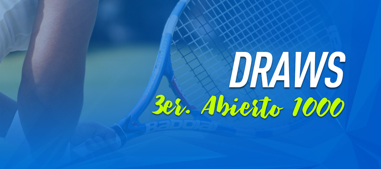 draws 3er abierto 1000