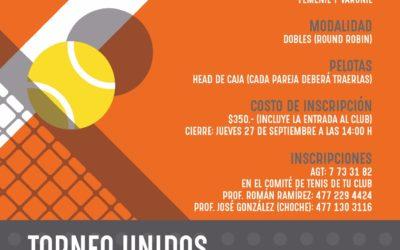 Torneo unidos por Mario García
