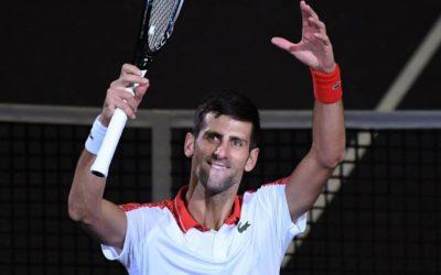 Djokovic aspira a premio Regreso del Año en tenis mundial