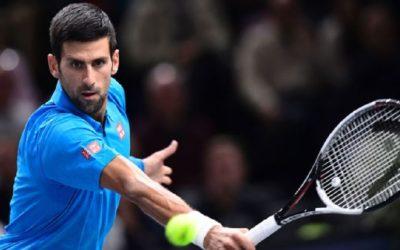 Djokovic ya tiene rival para su debut en París-Bercy