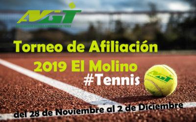 TORNEO  DE AFILIACIÓN 2019 EL MOLINO