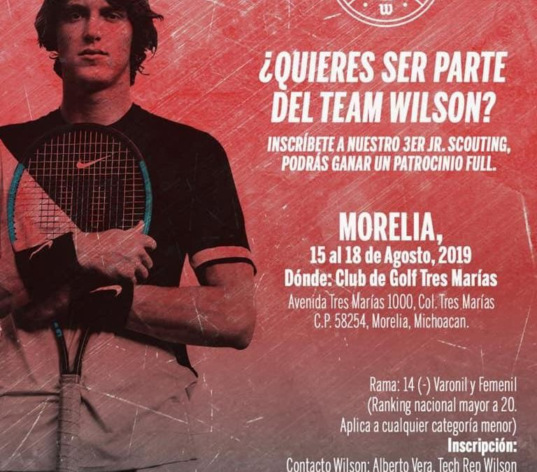 ¿Quieres ser Parte del Team Wilson de Morelia?