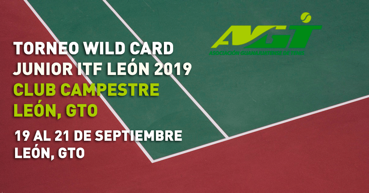 TORNEO WILD CARD JUNIOR ITF LEÓN 2019